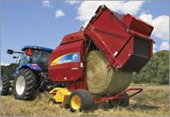New Holland Roll-Belt™ Round Balers