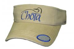Logo Visor with Fly Patch Chota
