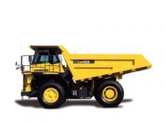 Mechanical Dump Truck 2012 Komatsu HD405-7