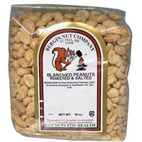 Blanched Peanuts, Roasted & Salted