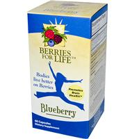 Blueberry, 60 Capsules