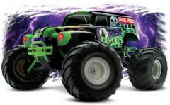 1/16 Scale 2 WD  Monster Jam Replica Monster Truck