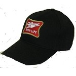 Cap with Miller Logo - Emblem