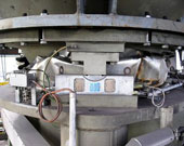 Blast furnace top scales
