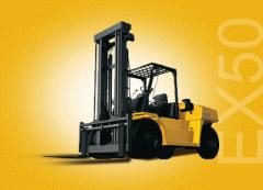 Cushion Tire Lift Trucks EX50 Series