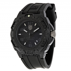Luminox Blackout Black Dial and Rubber Strap Mens