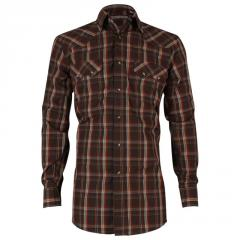 Men's Plaid Long Sleeve Western Shirt Cody