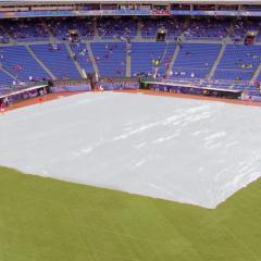 Baseball Field Cover 170' x 170' 1200 lb