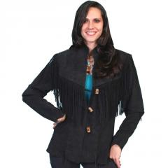 Women's Fringe Jacket Scully