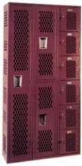 Heavy Duty Ventilated Lockers, Republic
