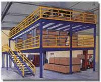 Free-standing Mezzanine System Multi-Tier