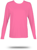Custom Women's Long Sleeve T-Shirts