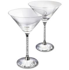 Crystalline Cocktail Glasses (set of 2) Stemware