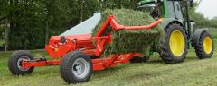 Square bale wrappers