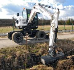 E55W Compact Excavator