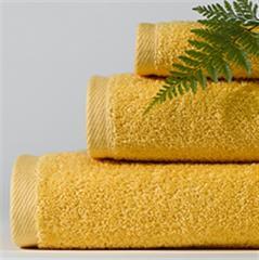 Yellow towel sets: 6 pc. set includes 2 Bath, 2
