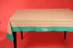 Square Birthday Tablecloth