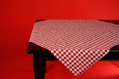 Tablecloth, Harlequin Large Red Diamonds