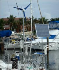 V400 Marine Wind Generator and Hybrid Controller