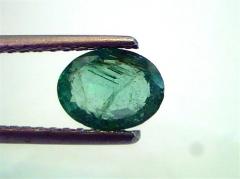 1 Ct Untreated Natural Zambian Emerald