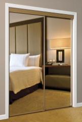 Series 7T Framed Sliding Mirror Door