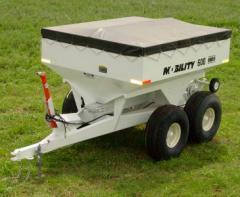 Mobility 600 PTO (6 Ton) Dry Fertilizer Spreaders
