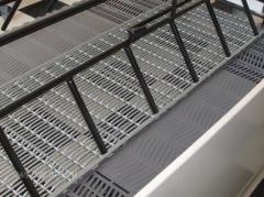 Woven Wire Hog Flooring