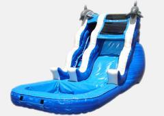 16' Dolphin Slide Water Slides
