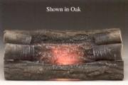 Electric Crackling Oak Logs