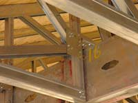 Truss, Fabricated Metal and Panels, Wall