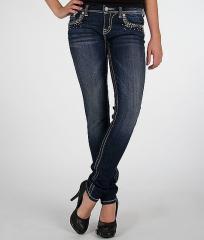 Miss Me Glitz Skinny Stretch Jean