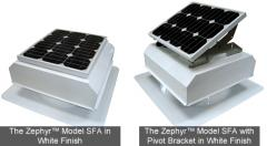 The Zephyr™ SFA Model Solar Attic Fans