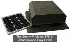 The Zephyr™ SFD Model Solar Attic Fans