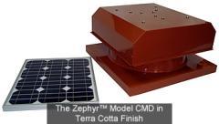 The Zephyr™ CMD Model Solar Attic Fans