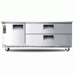 "Drawered Under-Counter Refrigerator, 71"""