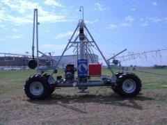2-Wheel power tower/hose pull