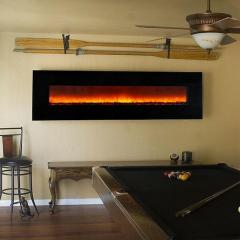 Electric Fireplace Modern Flame Ambience 95