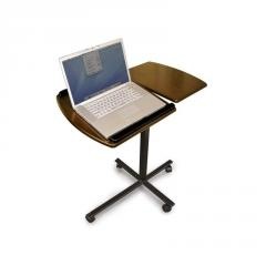 Split-top Portable Laptop Desk in Walnut Windsor