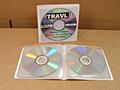 Flexible Vinyl CD/DVD Wallet