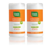 Hand Sanitizer Canister Pack - Orange Vanilla