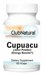 Cupuacu Juice Powder Energy Boost 250 mg 60