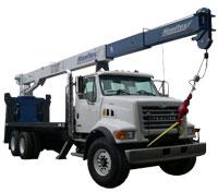 Boom Truck Crane Manitex 1703C series
