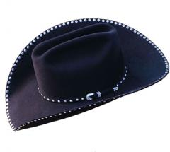Stock Hat with Crystals