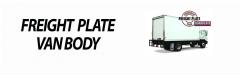 US Truck Body - Freight Plate Van Body