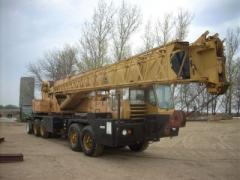1975 Grove TMS-475 Crane