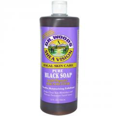 Shea Vision, Pure Black Soap