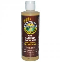 Pure Almond Castile Soap with Organic Shea Butter