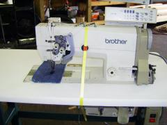 Electronic Double Needle Sewing Machine Brother