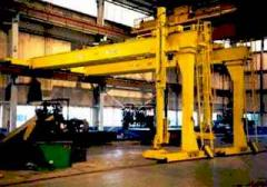 Single Leg Gantry Crane
