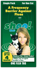 Shoo!TAG™ Cat Flea Single